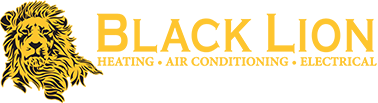 Black Lion Heating & Air Conditioning logo